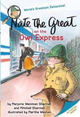 Nate the Great on the Owl Express - eBook