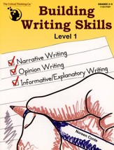 Building Writing Skills Level 1,  Grades 3-5