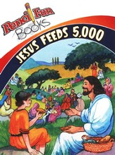 Jesus Feeds 5,000 - 10 pack, Pencil Fun Books