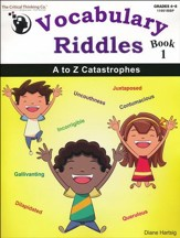 Vocabulary Riddles Book 1: A to Z  Catastrophes