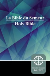 Semeur, NIV, French/English Bilingual Bible, Paperback - Slightly Imperfect