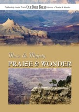 Music & Majesty: Praise & Wonder, DVD