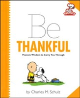 Peanuts: Be Thankful