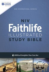 NIV Faithlife Illustrated Study Bible, Hardcover