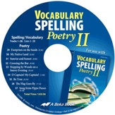 Abeka Vocabulary, Spelling & Poetry II Audio CD