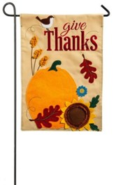 Give Thanks Flag, Small