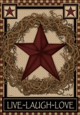 Star Wreath Flag, Small