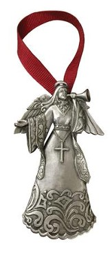 Rejoice Angel, Pewter Ornament