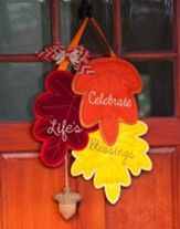Count Your Blessings Door Decor Hanger