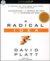 A Radical Idea: Unleashing the People of God for the Purpose of God Unabridged Audiobook on CD