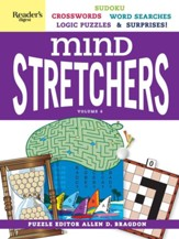 Mind Stretchers Puzzle Book, Volume 4