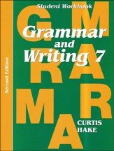 Saxon Grammar & Writing Grade 7 Student Workbook, 2nd Edition