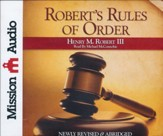 Robert's Rules of Order, Abridged Audio CD