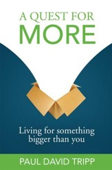 A Quest for More: Living for Something Bigger than You - eBook