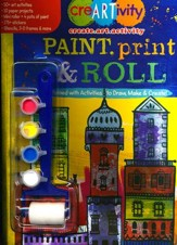 Paint, Print & Roll Activity Book