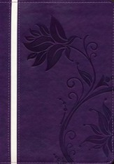 Biblia de la Mujer Conforme al Corazon de Dios, RVR 1960, Morado  (Bible for Women After God's Own Heart, RVR 1960, Purple)