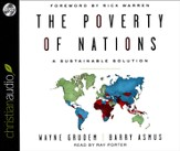 The Poverty of Nations: A Sustainable Solutions - unabridged audiobook on CD