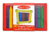 Triangular Crayon Set (12 pc)