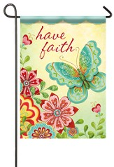 Have Faith, Glitter Flag, Small