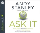 Ask It - unabridged audiobook on CD