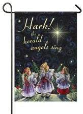 Hark The Herald Angels Sing Flag, Small