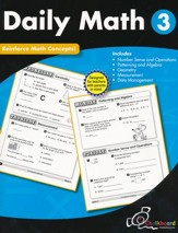 Daily Math Workbook, Grade 3