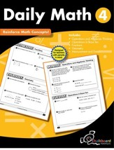 Daily Math Workbook, Grade 4