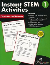 Instant STEM Activities Workbook,  Grade 1
