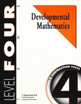 Developmental Math, Level 4, Student  Workbook