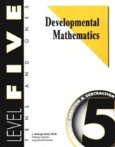Developmental Math, Level 5, Student Workbook