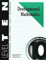 Developmental Math, Level 10, Student Workbook