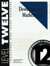 Developmental Math, Level 12,  Student Workbook