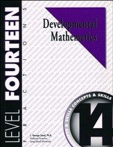 Developmental Math, Level 14,  Student Workbook