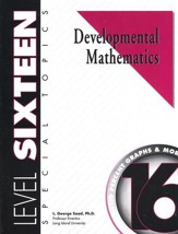 Developmental Math, Level 16,  Student Workbook