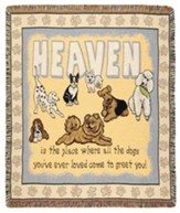 Dogs In Heaven Throw