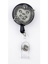 Apple, A Teacher is a Special Person, Pewter Badge Holder