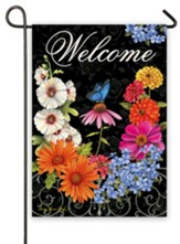 Welcome, Hidden Garden Flag, Small