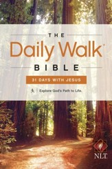 The Daily Walk Bible NLT: 31 Days with Jesus - eBook