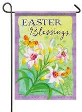 Easter Blessings, Small Flag