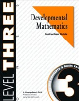 Developmental Math, Level 3,  Educator's Guide