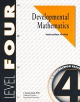 Developmental Math, Level 4, Educator's Guide  - Slightly Imperfect