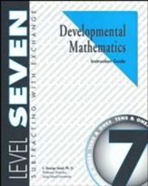 Developmental Math, Level 7, Educator's Guide