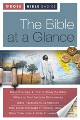The Bible at a Glance: What You Need to Know About the Bible - eBook