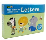 Write-On-Wipe-Off Learning Cards: Letters