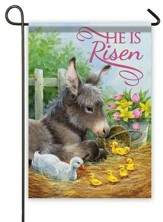 He Is Risen, Donkey Flag, Small