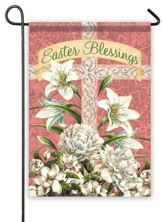 Easter Blessings Flag, Small