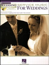Service Music for Weddings--Book and CD