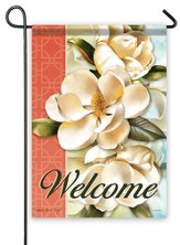 Welcome, Magnolia Bliss Flag, Small