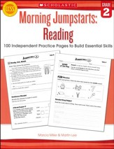 Morning Jumpstarts, Reading Grade 2: 100 Independent Practice Pages to Build Essential Skills
