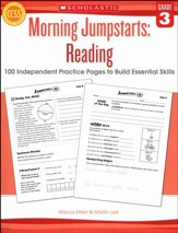 Morning Jumpstarts, Reading Grade 3: 100 Independent Practice Pages to Build Essential Skills